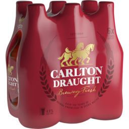 Photo of Carlton Draught 6 X 375ml Bottles