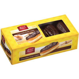 Photo of Chocolate Eclair Cases Ernest Adams 10 Pack