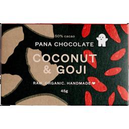Photo of Pana Chocolate Coconut & Goji 45g