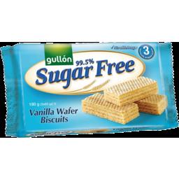 Photo of Gullon 99.5% Sugar Free Vanilla Wafer Biscuits 180g
