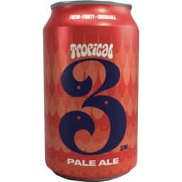 Photo of 3 Ravens Tropical Pale Ale Can