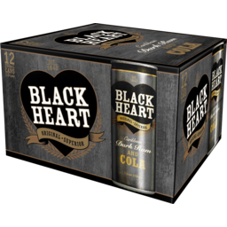 Photo of Black Heart & Cola 7%