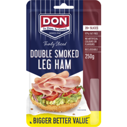 Photo of Don Shaved Double Smoked Leg Ham 250g