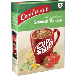 Photo of Continental Cup A Soup Spanish Tomato 2 Pack 70g