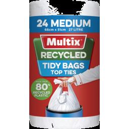 Photo of Multix Recycled Kitchen Tidy Bag Medium 24pk