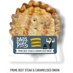 Photo of Dads Pies Beef & Onion Family 900g