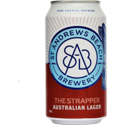 Photo of St Andrews Beach Brewery The Strapper 330ml 6 Packk