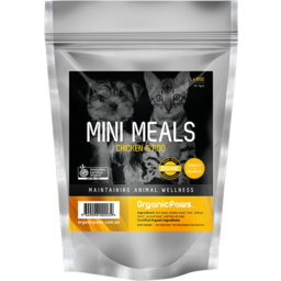 Photo of Organic Paws Mini Meals - Chicken & Roo (5 X 100gm)
