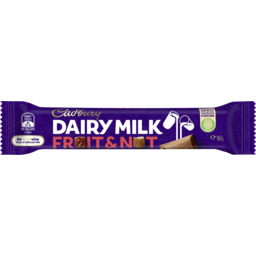 Photo of Cadbury Dairy Milk Fruit & Nut Milk Chocolate Bar 50g