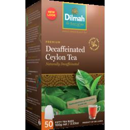 Photo of Dilmah Decaffeinated  Tea Bags 50 Pack