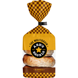 Photo of Abes Bagels Multigrain 4 Pack