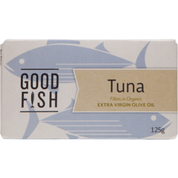 Photo of Good Fish Tuna Fillets Olive Oil 125g