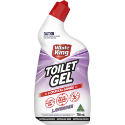 Photo of White King Power Clean Toilet Bleach Gel Lavender 700ml