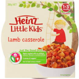 Photo of Hnz L/Kids Lamb Casserole 200g