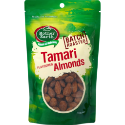 Photo of Mother Earth Tamari Flavoured Almonds 140g