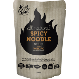 Photo of Hart & Soul All Natural Spicy Noodle Soup 400g