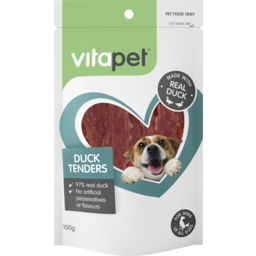 Photo of Vitapet Dog Treats Duck Tenders 100g