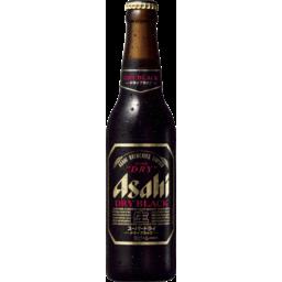 Photo of Asahi Super Dry Black Beer Bottles