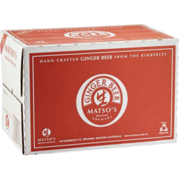 Photo of Matsos Ginger Beer Carton