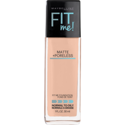Photo of Maybelline Fit Me Matte & Poreless Mattifying Liquid Foundation - Nude Beige 125