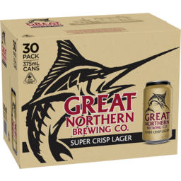 Photo of Great Northern Super Crisp Lager Cans