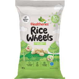 Photo of Healtheries Kidscare Rice Wheels Sour Cream & Chives 10 Pack