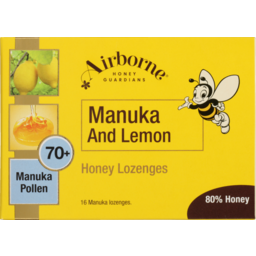 Photo of Airborne Lozenges Honey Manuka Lemon 16 Pack