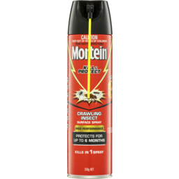 Photo of Mortein Kill & Protect High Performance Surface Spray Crawling Insect 350g