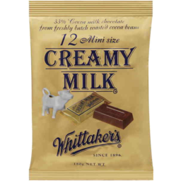 Photo of Whittakers Whittaker's Creamy Milk 12 Pack 180gm