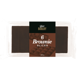 Photo of Your Bakery Slice Brownie 6pk