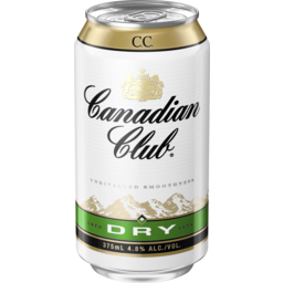 Photo of Canadian Club & Dry Can 375ml