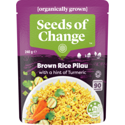 Photo of Seeds Of Change Brown Rice Pilau With A Hint Of Tumeric 240g
