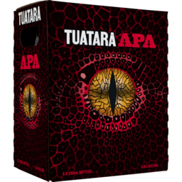 Photo of Tuatara American Pale Ale 330ml Bottles 6 Pack