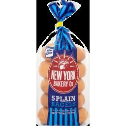 Photo of New York Bagels - Plain 4pk (DEL MON, WED & FRI)
