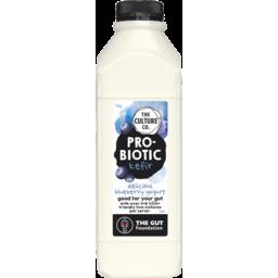 Photo of The Culture Co Probiotic Kefir Yogurt Blueberry 1kg
