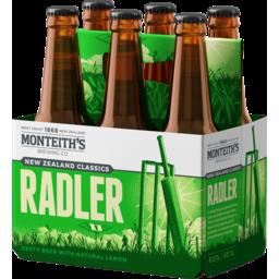 Photo of Monteiths Classic Beer Radler Bier 6 Pack