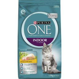 Photo of Purina One Indoor Cat Food With Chicken 1.5kg