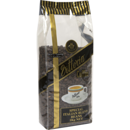 Photo of Vittoria Coffee Italian Blend Coffee Beans 1kg