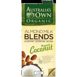 Photo of Australias Own Almond & Coconut Milk Organic 1lt