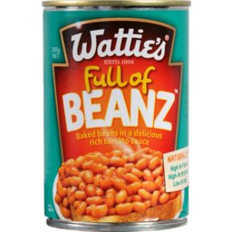 Photo of Wattie's Baked Beans In Tomato Sauce 300g