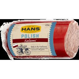 Photo of Hans Polish Salami 375g