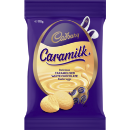 Photo of Cadbury Caramilk Easter Egg Bag 110g