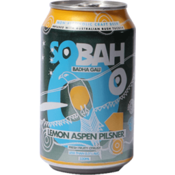 Photo of Sobah Lemon Aspen Pilsner