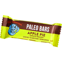 Photo of Blue Dinosaur Paleo Bars Apple Pie 45gm
