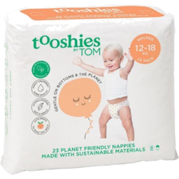 Photo of tooshies by TOM Walker Nappies 12-18kg