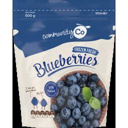 Photo of Community Co. Frozen Blueberries 500g
