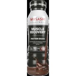 Photo of Musashi Muscle Recovery Protein Shake Chocolate Milkshake 375ml