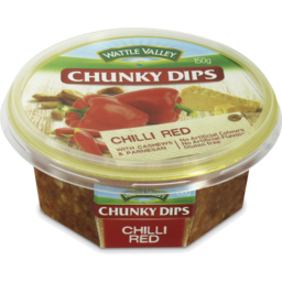 Photo of Wattle Valley Chunky Dips Chilli Red With Cashew & Parmesan 150gm