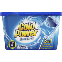 Photo of Cold Power Regular Dual Capsules 3in1, 18 Capsules, 414g