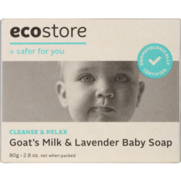 Photo of Ecostore Baby Soap 80g